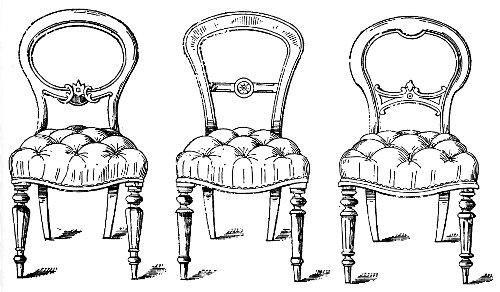 antiques balloon back chairs