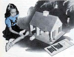 1940s vintage wallpaper